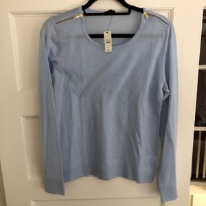 NWT robins blue Talbots sweater